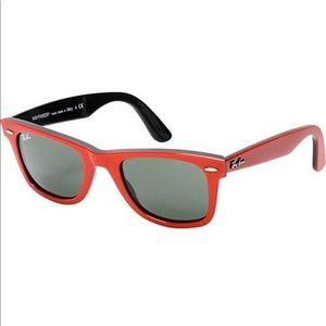 RAY-BAN Original Wayfarer Red & Black Sunglasses